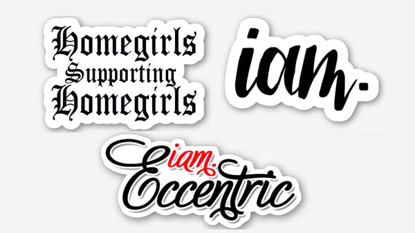 IAM.ECCENTRIC 3 Sticker Bundle Pack