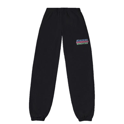 Power Puff Homegirls Sweat Pants - Black