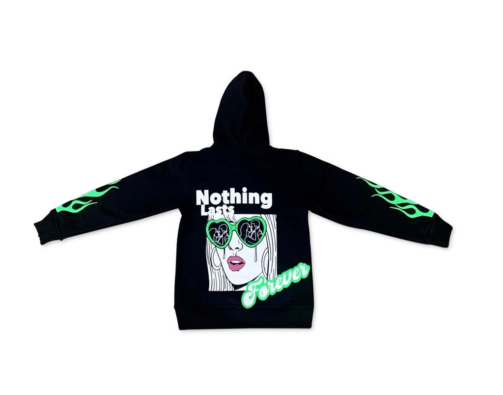 "IAM. & Slim B. Designs ""Nothing Lasts Forever"" Hoodie"