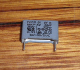 0.01uF 275VAC X2 Mains Suppression Capacitor - Part # .01MKPX2-275