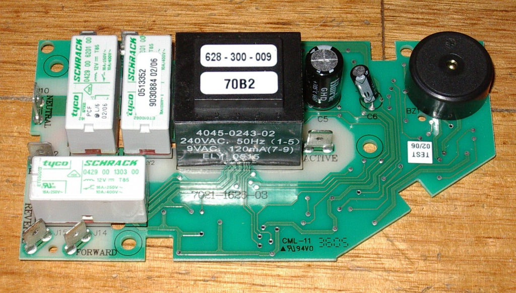 Electronic Control Module >> Hoover 5050ed Dryer Electronic Control Module Pcb Part 0628377009