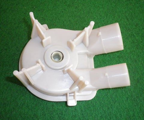 Late Model Whirlpool Compatible Plastic Drain Pump - Small Outlet - Part # 3363394