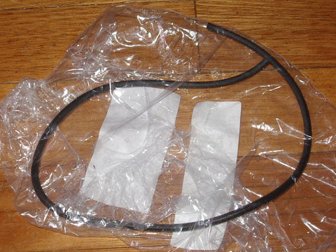 Electrolux Twin Clean Z8220 - Z8240 Dust Container Lid Seal - Part # 1180028019