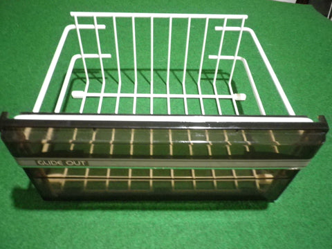 Used Westinghouse RS651F Bottom Freezer Basket - Part # 1406068KSH