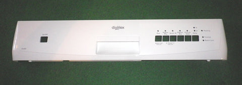 Dishlex DX203WK White Control Panel - Part # 1560723015