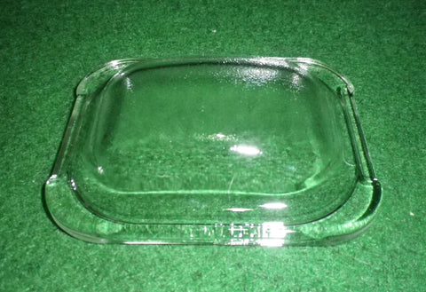 Bosch, Seimens Oven Lamp Rectangular Glass Cover - Part No. 187384, 00187384