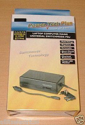 Universal 15-24 Volt 3.5amp Switchmode AC Adaptor - Part # MP3460