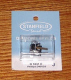 Philips D401E/II CompatibleElliptical  Turntable Stylus - Stanfield Part # D1031E
