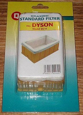 Dyson DC11 Vacuum Cleaner Standard Motor Filter - Part # FIL269