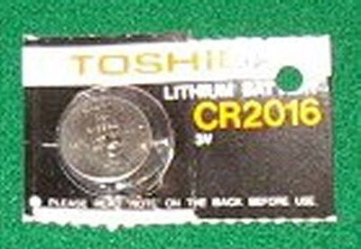 CR2016 3Volt Lithium Battery