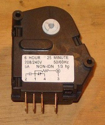 Fridge Defrost Timer 6Hour/25Minutes - Part No. RF104