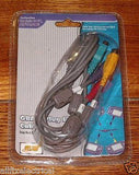Nintendo Gameboy Advance Compatible 4 Player Link Cable - Part # LC817, GBA186