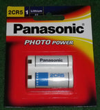 Panasonic 6Volt Lithium Photographic Camera Battery - Part # 2CR5