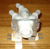 Triple Outlet 10mm Straight Inlet Valve for LG & Asko - Part # 5220FR2075B