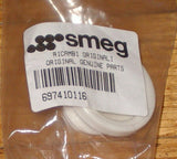 SMEG Dishwasher White Lower Basket Wheel - Part # 697410116