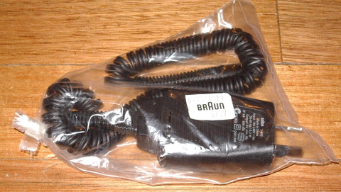 Braun Curly Shaver Smartcord with 2pin Australian Plug - Part # 7030829