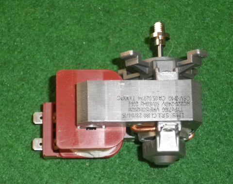 Smeg, Omega Fan-Forced Oven Twist Type Fan Motor - Part # 795210620