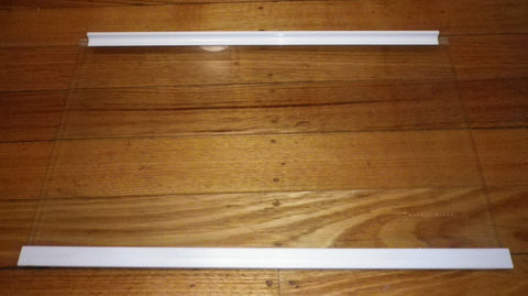 Used Fisher & Paykel E450R Fridge Crisper Cover Glass Shelf - Part # 818556SH