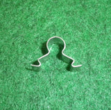 Smeg Inner Oven Door Glass & Cooktop Glass Retaining Clip - Part # 895092690