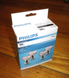 Philips 50Watt 240Volt GU10 PAR16 Dichroic Halogen Globe (Pkt4) - Part # 993786