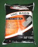 Hoover, Aquavac, Rowenta Synthetic Vacuum Cleaner Bags (Pkt 5) - Part No. AF156S