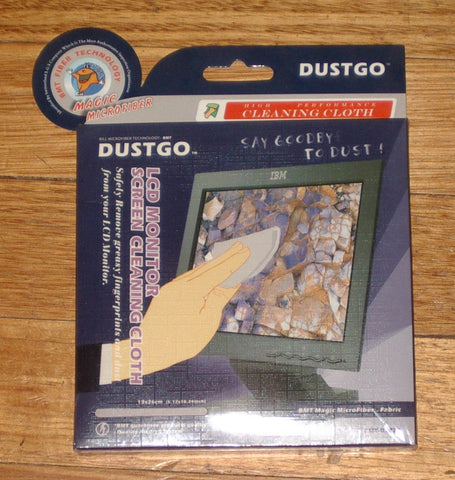 Dustgo Microfibre Cleaning Cloth for LCD Monitor Screens - Part No. BMT-D5024
