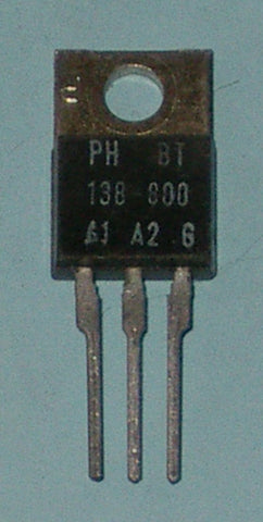 BT138-800 800Volt 12Amp Triac for Electronic Switching