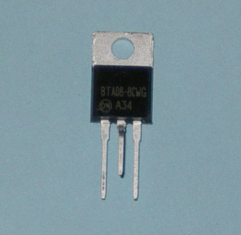 BTA08-800CW 800Volt 8Amp High Commutation Triac for Electronic Switching