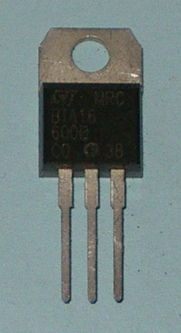 BTA16-600B 600Volt 16A Isolated General Purpose Triac