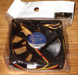 80mm X 20mm Computer Case, Power Supply Cooling Fan - Part # FAN8020C12H