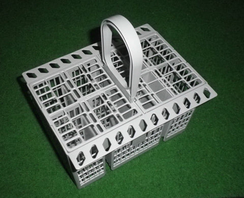 New Type Indesit, Ariston Cutlery Basket fits over Tynes - Part # C00257140