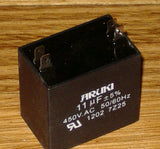 11uF 450Volt Motor Start / Run Capacitor - Part # CAC11UF