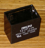 12uF 450Volt Motor Start/Run Capacitor - Part # CAC12UF