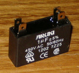 1uF 450Volt Motor Start/Run Capacitor - Part # CAC1UF
