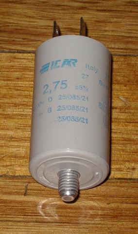 2.75uF 450Volt Motor Start/Run Capacitor - Part # CAP00275