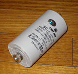 50uF 450Volt Motor Start/Run Capacitor - Plastic Type - Part # CAP050