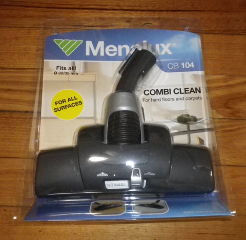 Menalux 32mm, 35mm CombiClean Combination Floor Tool with Wheels - Part # CB104