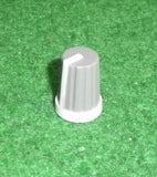 17mm x 13mm Diam Instrument / Audio Knob with 6mm Splined Shaft - Part # CR-MS-5
