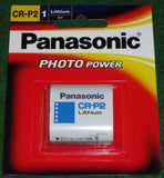 Panasonic 6Volt Lithium Photographic Camera Battery - Part # CR-P2