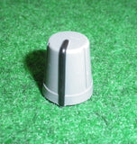 15mm x 13mm Diam Instrument / Audio Knob with 6mm D-Shape Shaft - Part # CR-R4-6