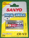 Sanyo 3Volt Lithium Photographic Camera Battery - Part # CR-V3