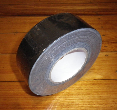 CableSafe Budget Black Gaffer Tape 50m X 50mm - Part # CSG2B