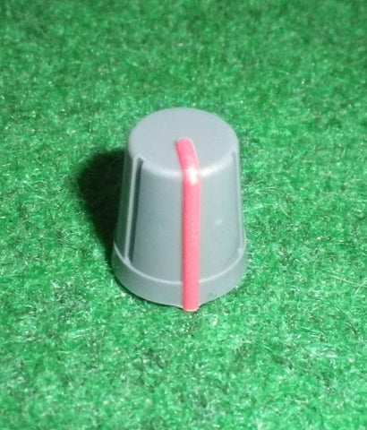 15mm x 13mm Diam Instrument / Audio Knob with 6mm D-Shape Shaft - Part # CR-R4-1