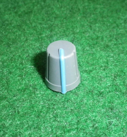 15mm x 13mm Diam Instrument / Audio Knob with 6mm D-Shape Shaft - Part # CR-R4-3