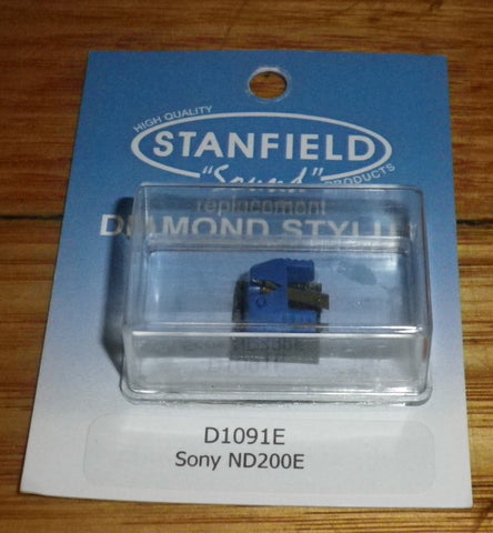 Sony ND200E, ND250E Compatible Eliptical Turntable Stylus - Part # D1091E