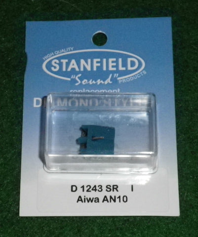 Sanyo STG9, STG10, Aiwa AN10 Compatible Turntable Stylus - Part # D1243SR