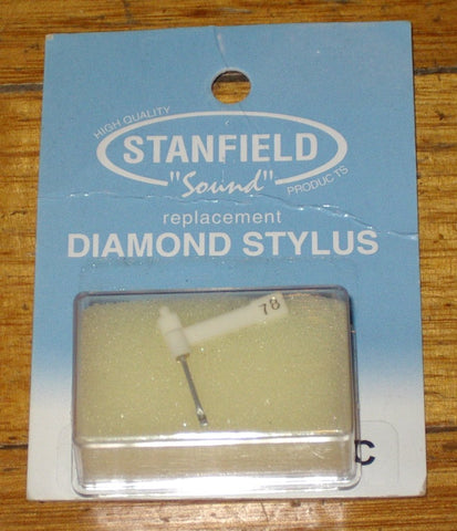 BSR ST3, ST4 Compatible Turntable Stylus for LP's & 78's. - Part No. D88SR/78