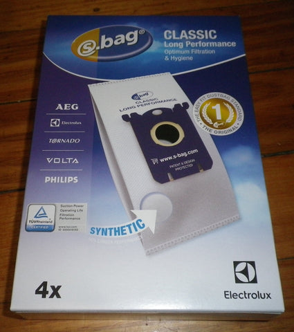 Electrolux Original Genuine Long Performance S-Bag Vacuum Bags. - Part # E201B