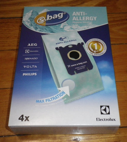 Electrolux AntiAllergy Clinic S-Bag Vacuum Bags - Part # E206B