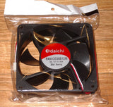 120mm x 38mm Case, Power Supply Cooling Fan - Part # FAN12038B12